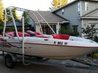 Please call owner Jacob at . Boat is in Orangevale,