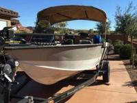 Please call owner Richard at . Boat is in Ivins, Utah.