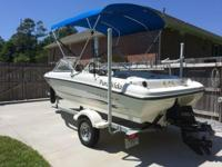 Please call owner Kenneth at . Boat is in Milton,