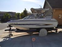 Please call owner Jimmy at  or . Boat is in Moreno