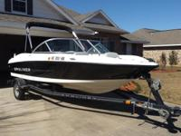 Please call owner Jerry at . Boat is in Foley, Alabama.