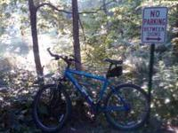 "I have a great 26"" blue mens Iron Horse mountain bike"