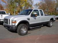 This 2008 Ford F250 Super Duty FX4 Lariat SuperCab Long