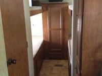2012 nomad bunk house travel trailer sleeps 7,self