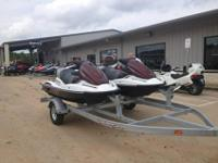 For sale- 2- 2011 Kawasaki STX-15F 3 person Jet Skis