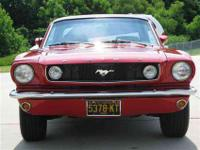 This 1965 Ford Mustang 2 Door HT Coupe features a 289
