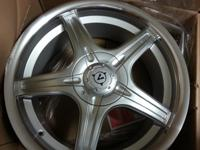 "I have a set of four 17"" wheels brand ne in boxes for"