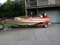 Bass Boat 17.7 ft.(Correct Craft) with 150hp Mercury