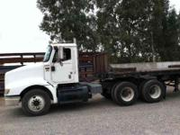 2002 I-H 9100 tandem axle day cab tractor. Mileage is