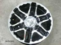 "17"" Black 8 lug Gear Alloy rims for F-250, or other 8"