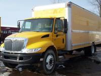 FOR SALE IS A 2007 INTERNATIONAL 4300 26' MORGAN BOX