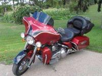 2007 Harley Screaming Eagle FLHTCUSE 110 CI Beautiful