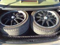 Hey I am selling my ADR's with 205/40/17 rims with