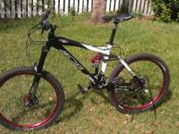 Brand new professionally built all mountain bike. Parts