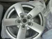 "Set of four 17"" alloy rims were originally on a 2008"
