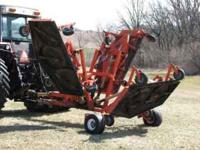 Befco cyclone flex 17' finish mower. 540 pto. Hydraulic