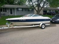 Call Boat owner Eric . 1996 bayliner capri 1750 with