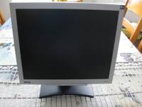 Also, for sale: 17''Samsung SyncMaster 720N Flat Screen