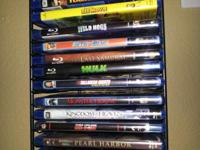 Up for sale is a lot of 17 mint condition bu-ray movies