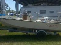For sale is a 1992 Boston Whaler Montauk 17? center