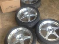 "I have a used set of 17"" centerline wheels with toyo"