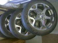 "17"" Chrome Rims..were on for a couple of seasons..used"