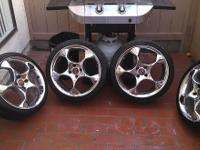 "I have a full set of 4 Lug, 17"" Niche rims. Tires are"