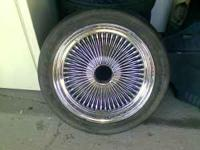 "17"" Dayton rims > chrome > $100 > no trades  Location:"