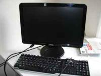 "17"" Dell flat screen computer Monitor in very good"