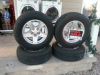 Excellent condition factory tires and tires of evade
