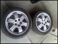 Eclipse Wheels for Sale. Im selling 2 OEM wheels; they