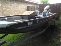 What I am selling is a 1993 polar craft  with a 1993 70