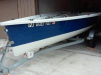 2006 vanguard nomad sailboat and trailer. Excellent