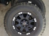 these are 4 17 inch ATX Crawler rims along with