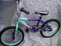 CALL  ask for Dave 17 inch inch Boys Bike green and