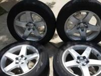 17inch Dodge rims and Goodyear tires great shape like