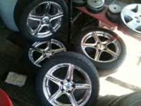 Eagle alloys 17 inch 5 lug rims tires are almost gone