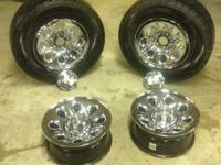 I'm selling a set of 4 manufacturing facility wheels
