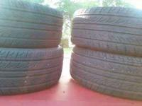 $400 for all four rims and brand new tires... SIZE-