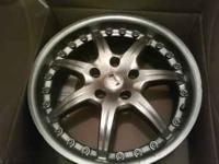 Up for sale is a set of 4 17 inch rims in good