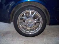 17 inch rims and tires for sale. 3 years old still in
