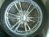 I have some 17 inch veloche chrome rims for sale, there