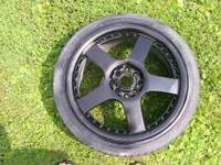 i have a set of 17 inch wheels 4 lug universal for sale