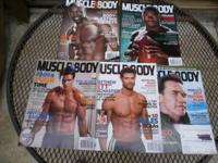 17 issues of Muscle And Body, Muscle And Performance