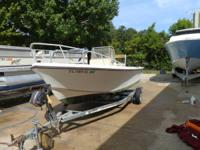 17' Mako c/c This boat is a very well-maintained second