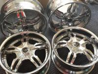 "I have for sale or possibly trade 17"" Morpheus wheels"