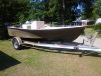 17' privateer center console fishing boat very solid