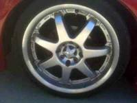 i have 17' rims and tires for sale, they have been in