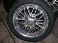 Set of 4 rims from 99 Dodge Avenger. Bolt pattern is
