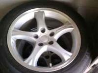 "I HAVE A SET OF 17"" ROUSH MUSTANG WHEELS WITH GOOD"